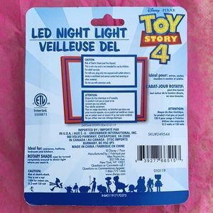Disney Accents - Toy Story 4 night light💗